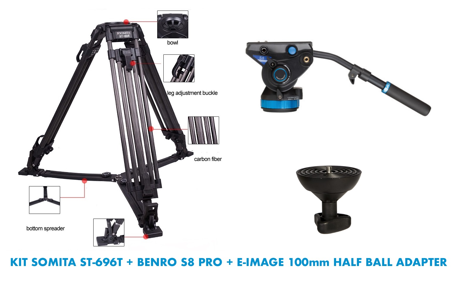 Picioare Trepied Video Preturi Rezultate Benro A1883fs2c Aero 2 Travel Angel Tripod Industries Ltd Kit Somita St 696t S8 Pro E Image 100mm Half Ball Adapter